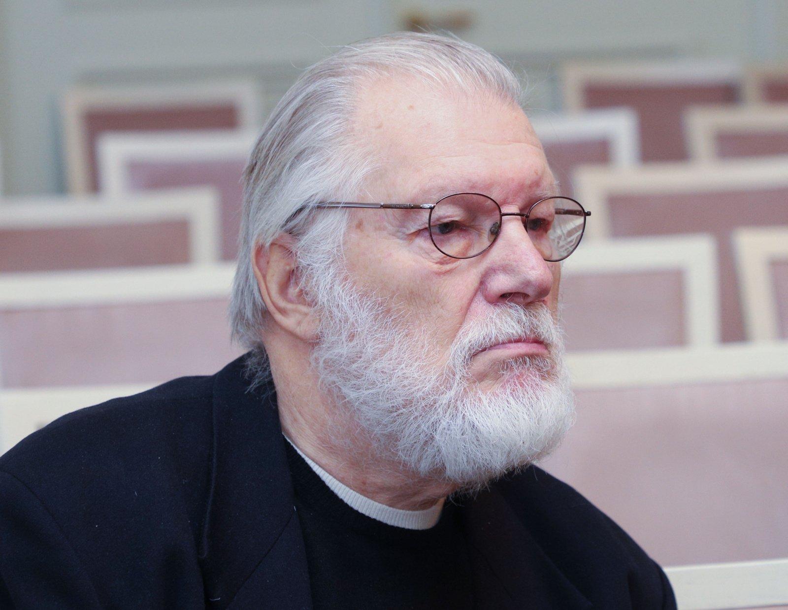 Aktorius J. Budraitis mini 80-mečio jubiliejų