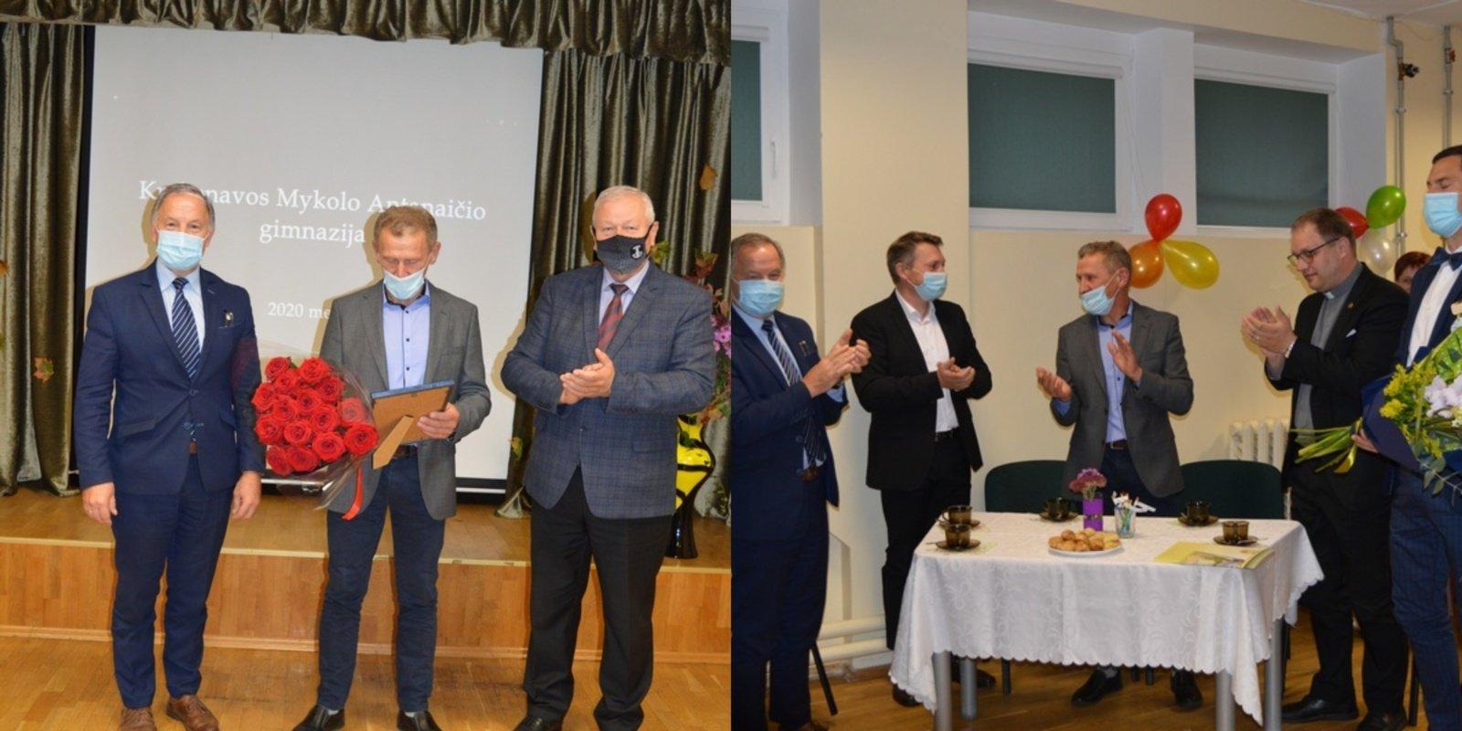 Panevėžio rajono geriausio Metų mokytojo vardą pelnė sporto treneris V. Dulius