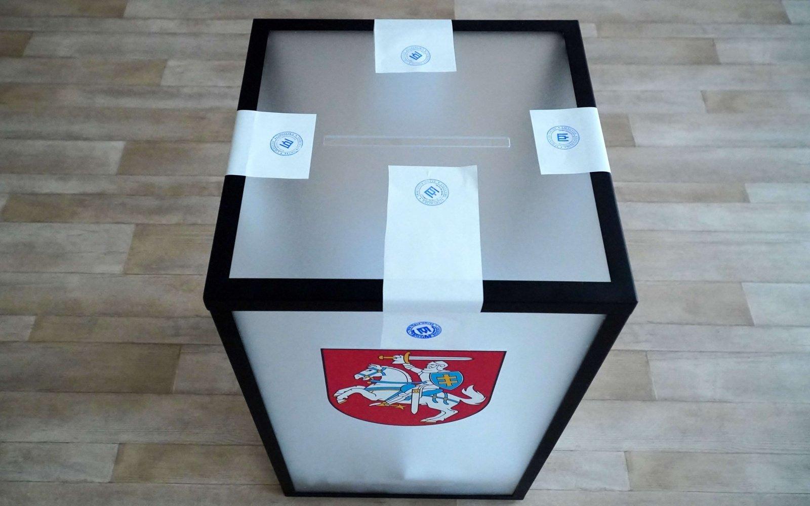 VRK perskaičiuos rinkimų rezultatus Panerių-Grigiškių vienmandatėje apygardoje