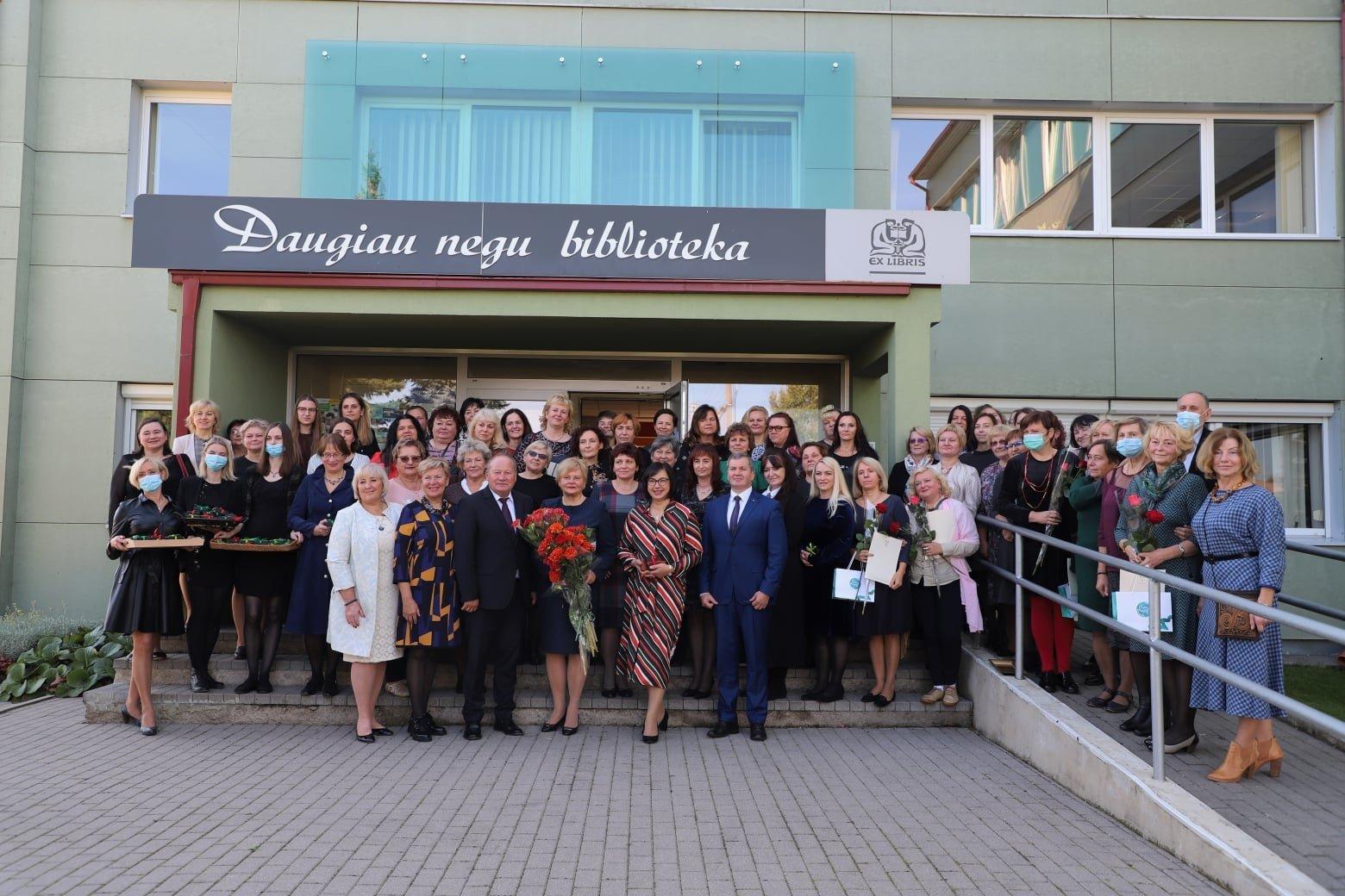 Kauno rajono savivaldybės viešoji biblioteka švenčia 65-metį
