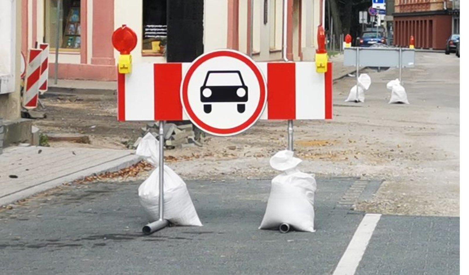 Panevėžyje S. Kerbedžio gatvėje bus ribojamas eismas