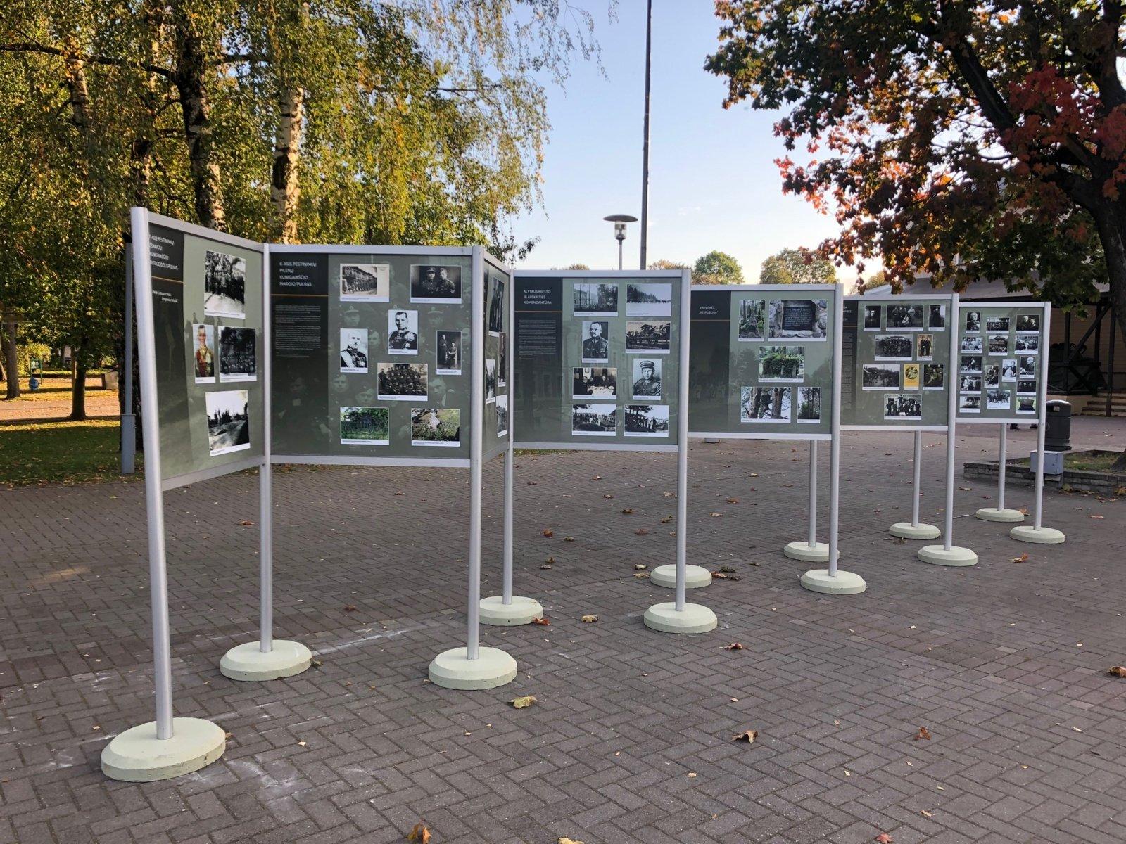Paroda Druskininkų pramogų aikštėje: Nepriklausomybės kovos Dzūkijoje