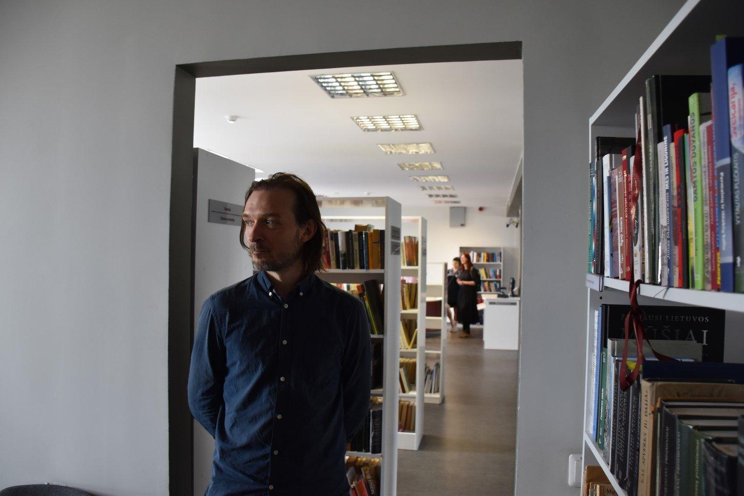 Architektai transformuoja Molėtų biblioteką