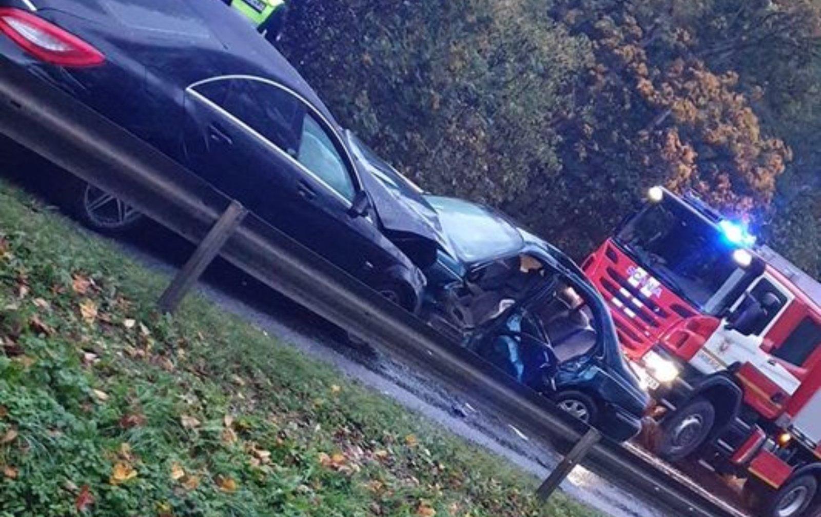 Sekmadienį Anykščių rajone – dvi avarijos, sužaloti žmonės