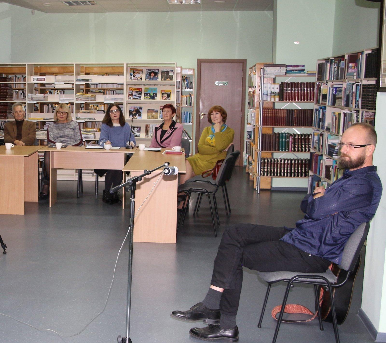 Kelmėje surengtas eilėraščių konkursas