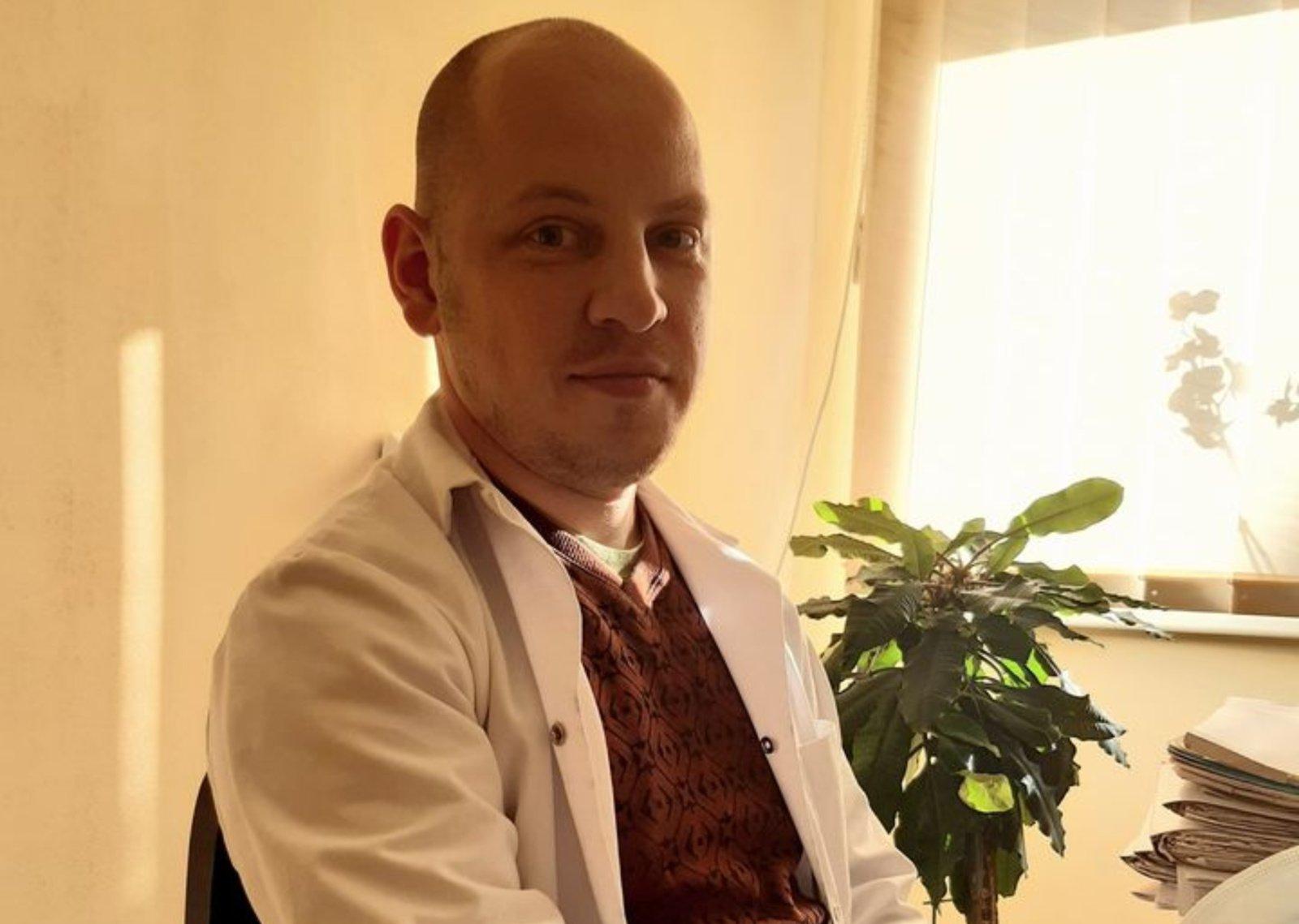 Utenos PSPC darbą pradeda šeimos gydytojas Ernestas Melnikas