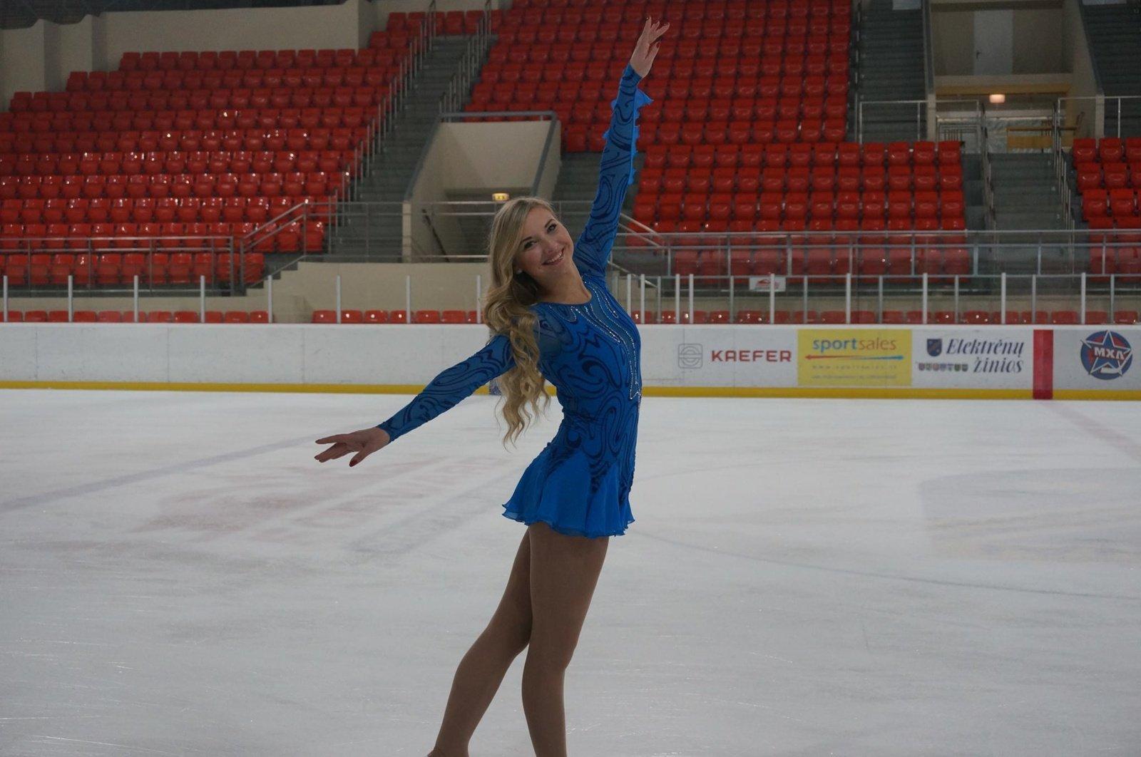 Dailiojo čiuožimo trenerė Gintarė Ašmenienė: auganti karta yra labai motyvuota