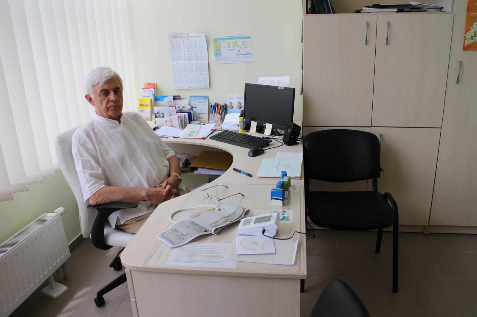 50 mediko darbo metų