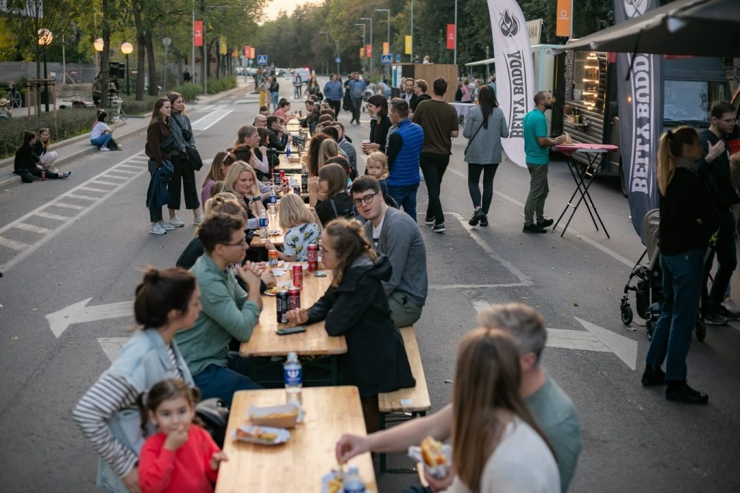 Sostinės Naugarduko gatvėje – dar viena bendruomenę telkianti iniciatyva