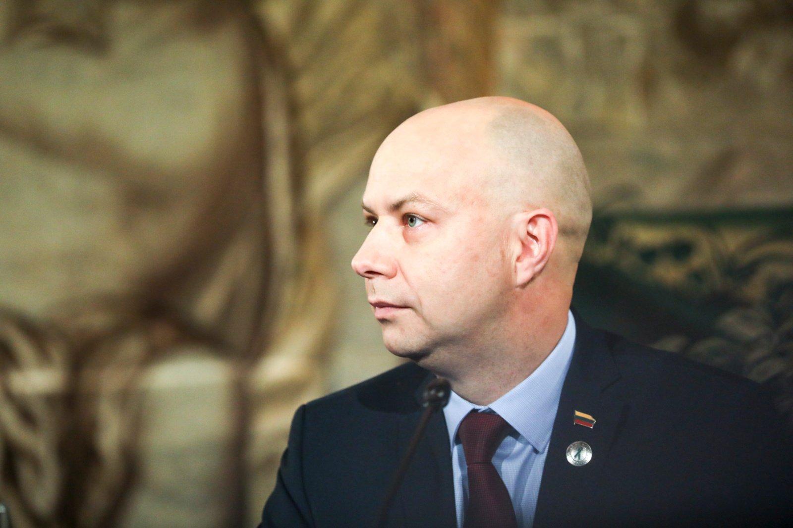 A. Veryga: savivaldybės sergamumo rodikliui pasiekus Raseinių lygį, joje būtų įvedamas karantinas