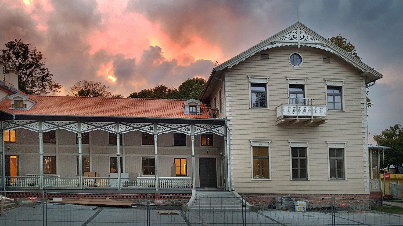 Atgijo kurhauzas – seniausias Palangos kurortinis pastatas