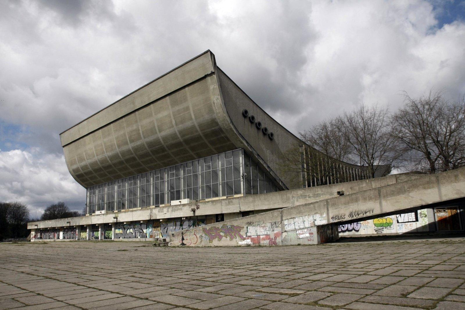 Sporto rūmų kompleksą planuojama pradėti rekonstruoti 2022-aisiais