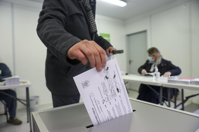 Saviizoliacijoje esantys rinkėjai galės palikti izoliacijos vietą iki 3 valandų