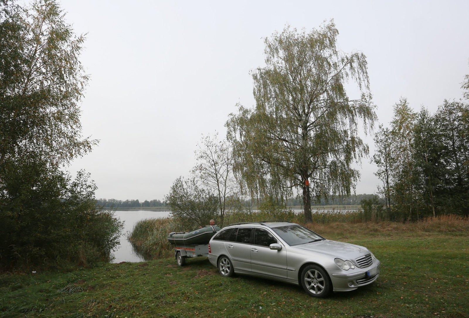 Kadrėnų tvenkinyje bus įrengta pirmoji Ukmergės rajone nemokama vieta valtims nuleisti