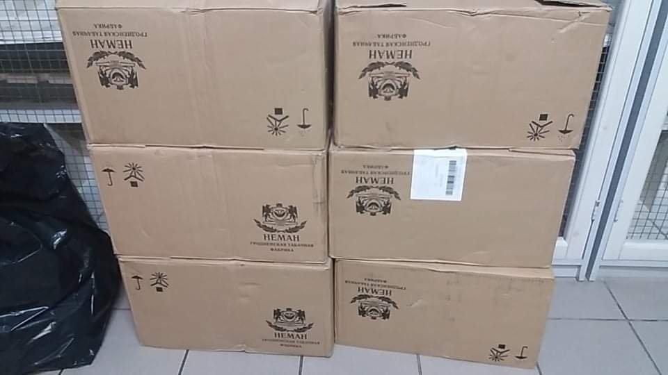 Šalčininkų rajone kontrabandininkai neteko 3000 pakelių cigarečių