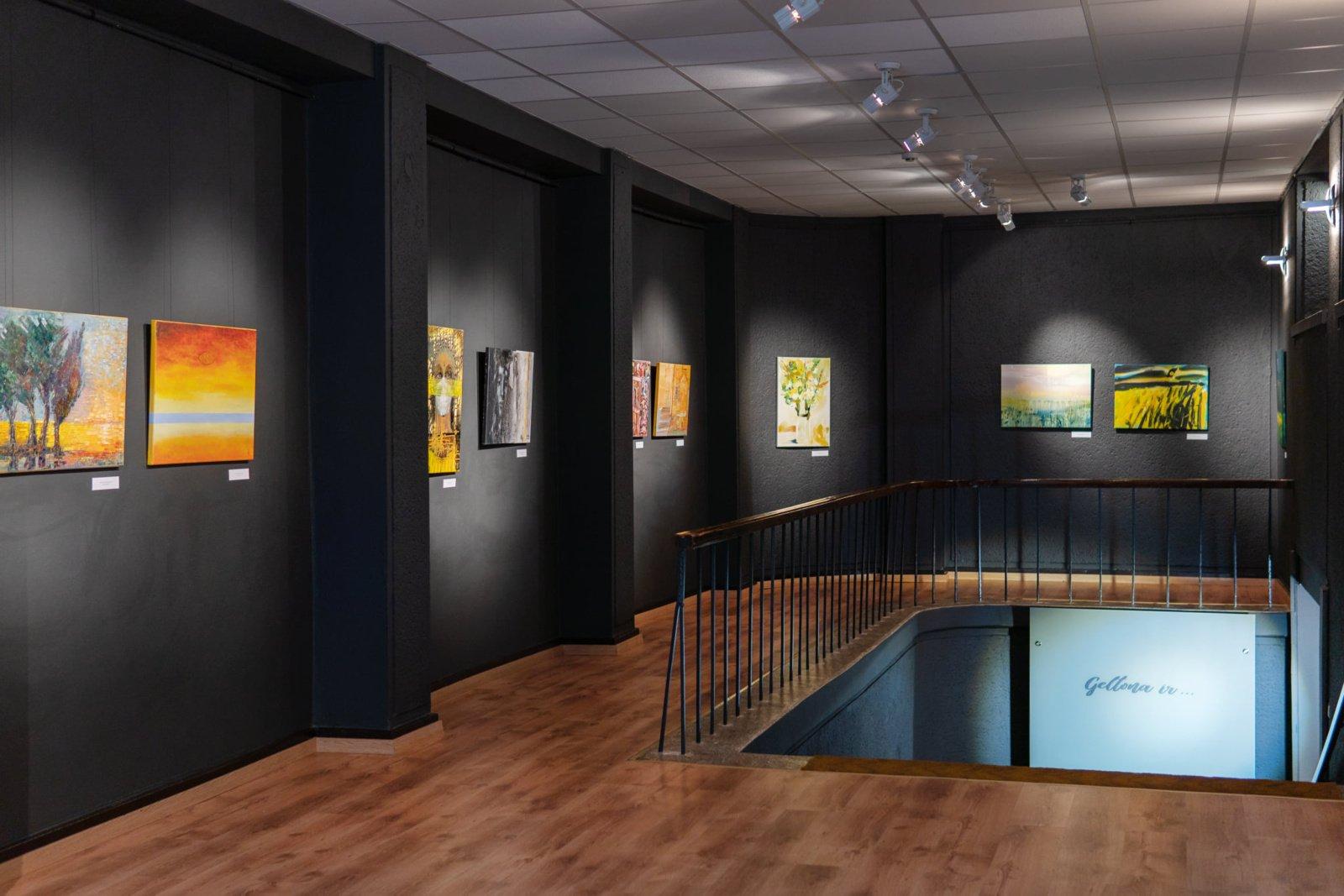 Tarptautinio dailės festivalio paroda Laiptų galerijoje