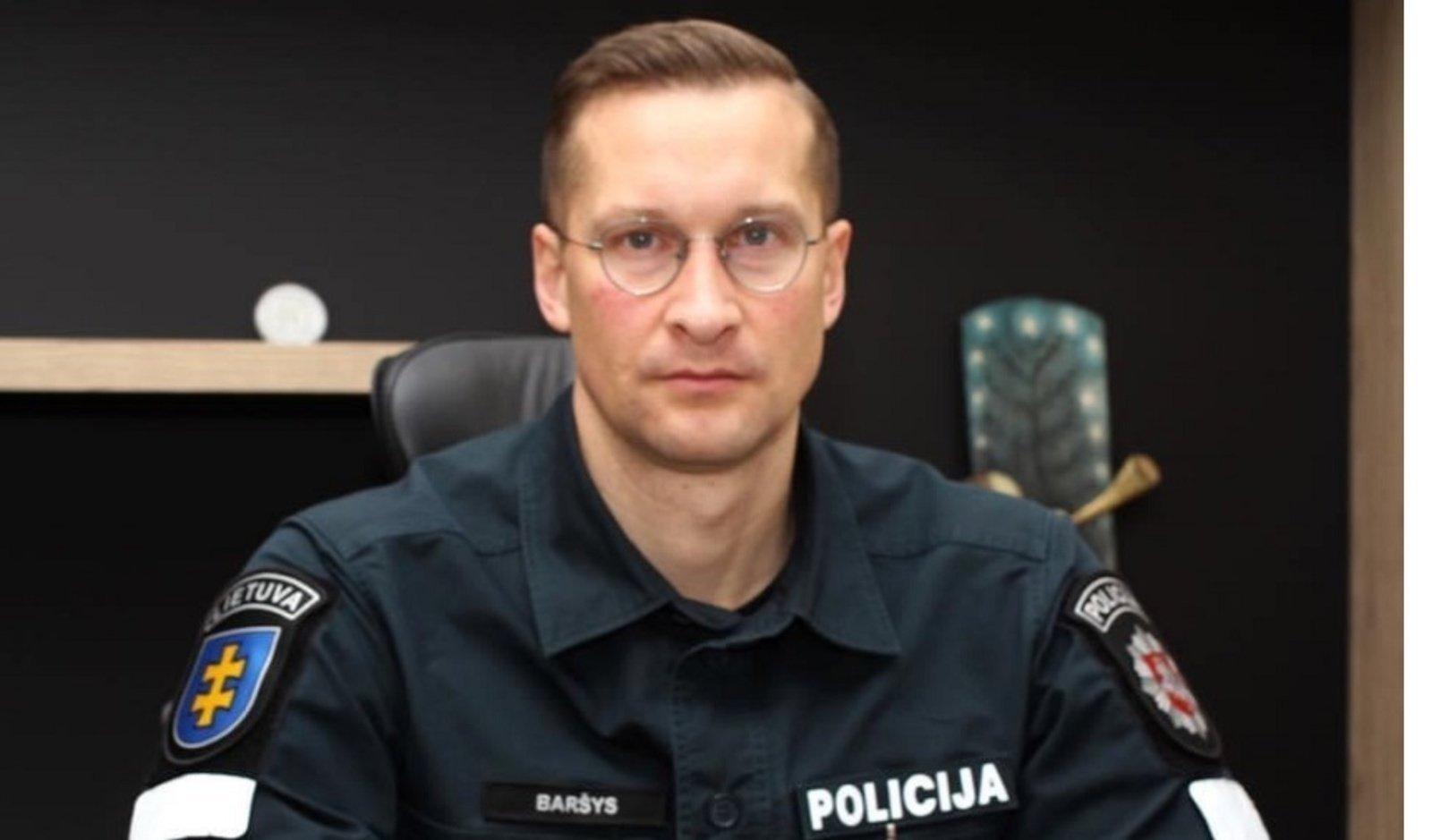 Naujasis Kauno policijos vadovas: žmonės turi jaustis saugūs net ir nematydami pareigūno