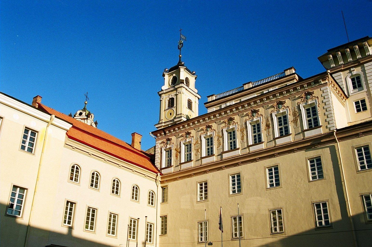 Vilniaus universitete mokymo procesas keturias savaites vyks nuotoliniu būdu