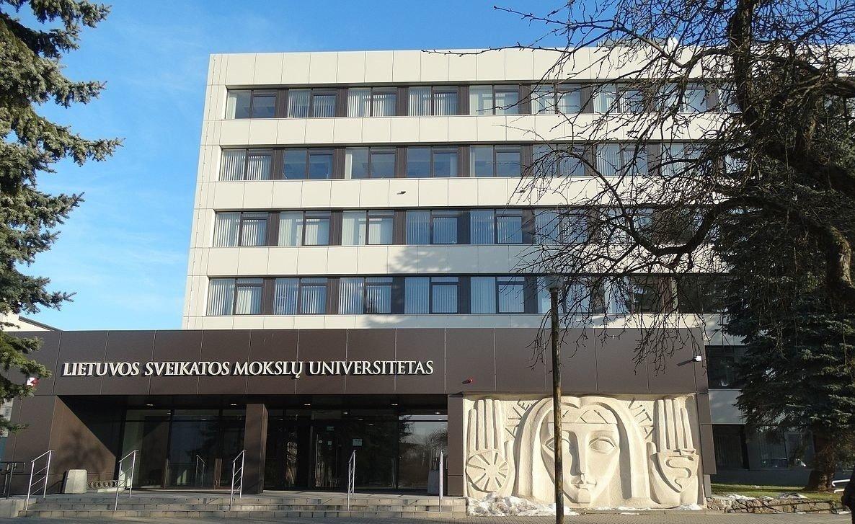 LSMU rektoriumi išrinktas R. Benetis