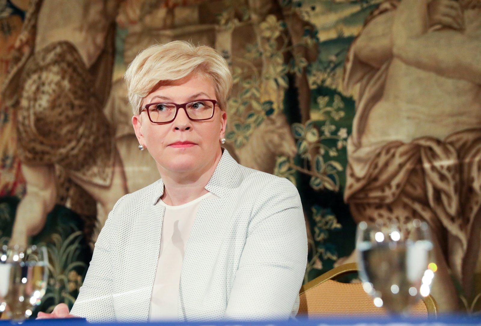 I. Šimonytė apie kritiką pretendentų į ministrus sąrašui: kritikuoti galima, tačiau reikėtų pažiūrėti ir į veidrodį