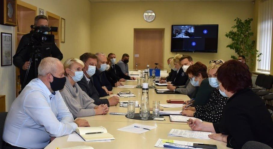 Savivaldybės ekstremaliųjų situacijų operacijų centras aptarė koronaviruso situaciją rajone