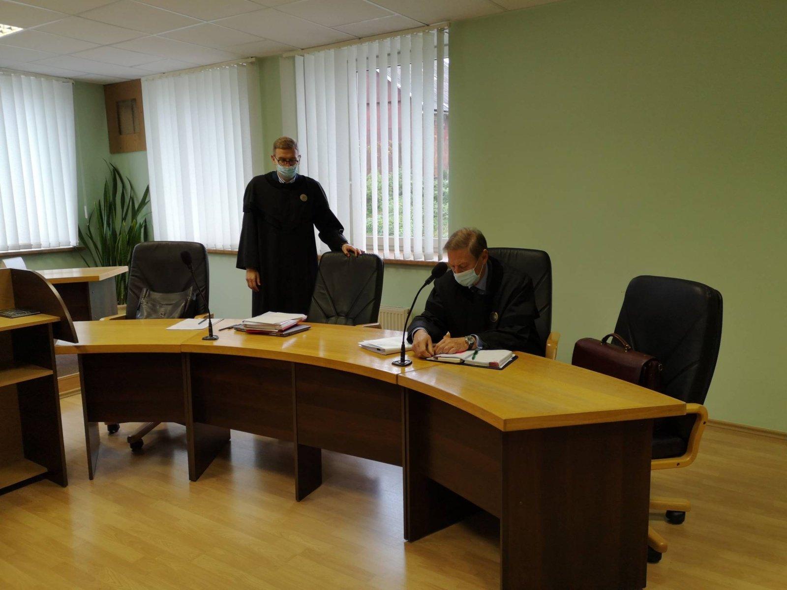 Prokurorė prieštarauja STT įrašų ekspertizei