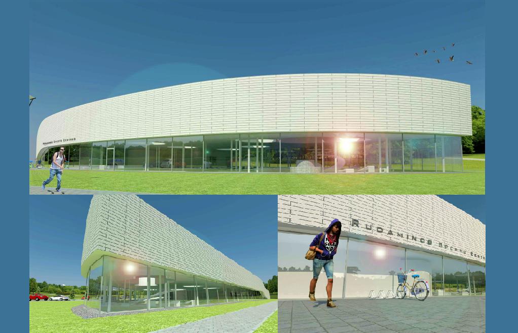 Startuoja sporto ir laisvalaikio centro statybų Rudaminos ir Nemėžio seniūnijose projektas