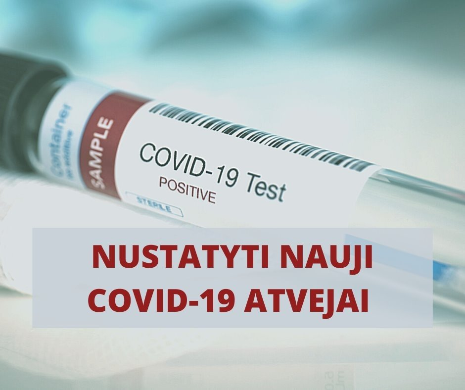 Vilkaviškio rajone – du nauji COVID-19 atvejai