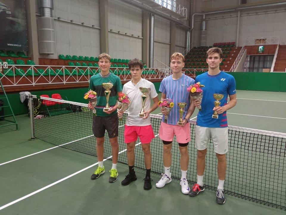 Lietuvių pergalės Tarptautiniame teniso turnyre Šiauliuose