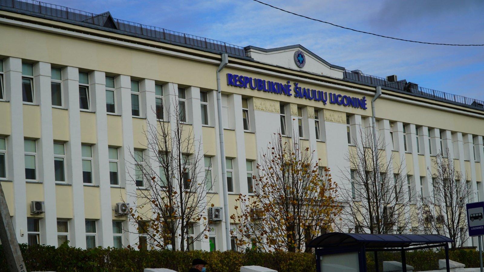 Situacija sudėtinga: Šiaulių apskrityje sergamumas koronavirusu ir toliau didėja, ligoninėje trūksta medikų