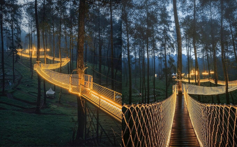 Magiškas tiltas Indonezijoje