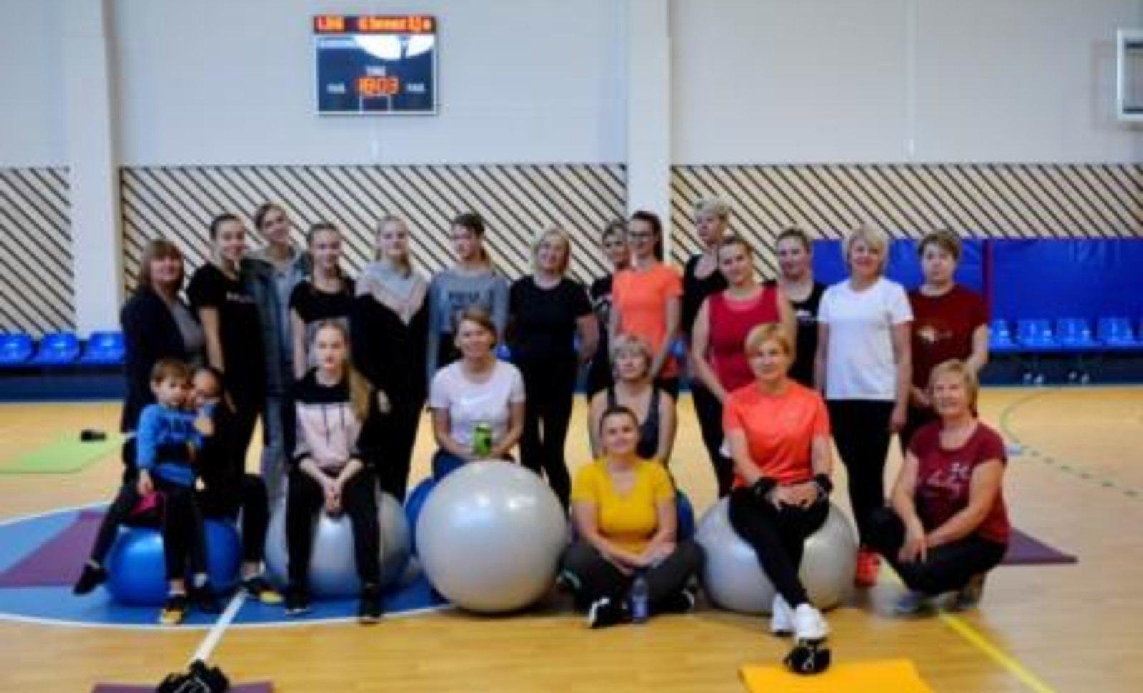 Sporto projektas Širvintų Lauryno Stuokos-Gucevičiaus gimnazijoje
