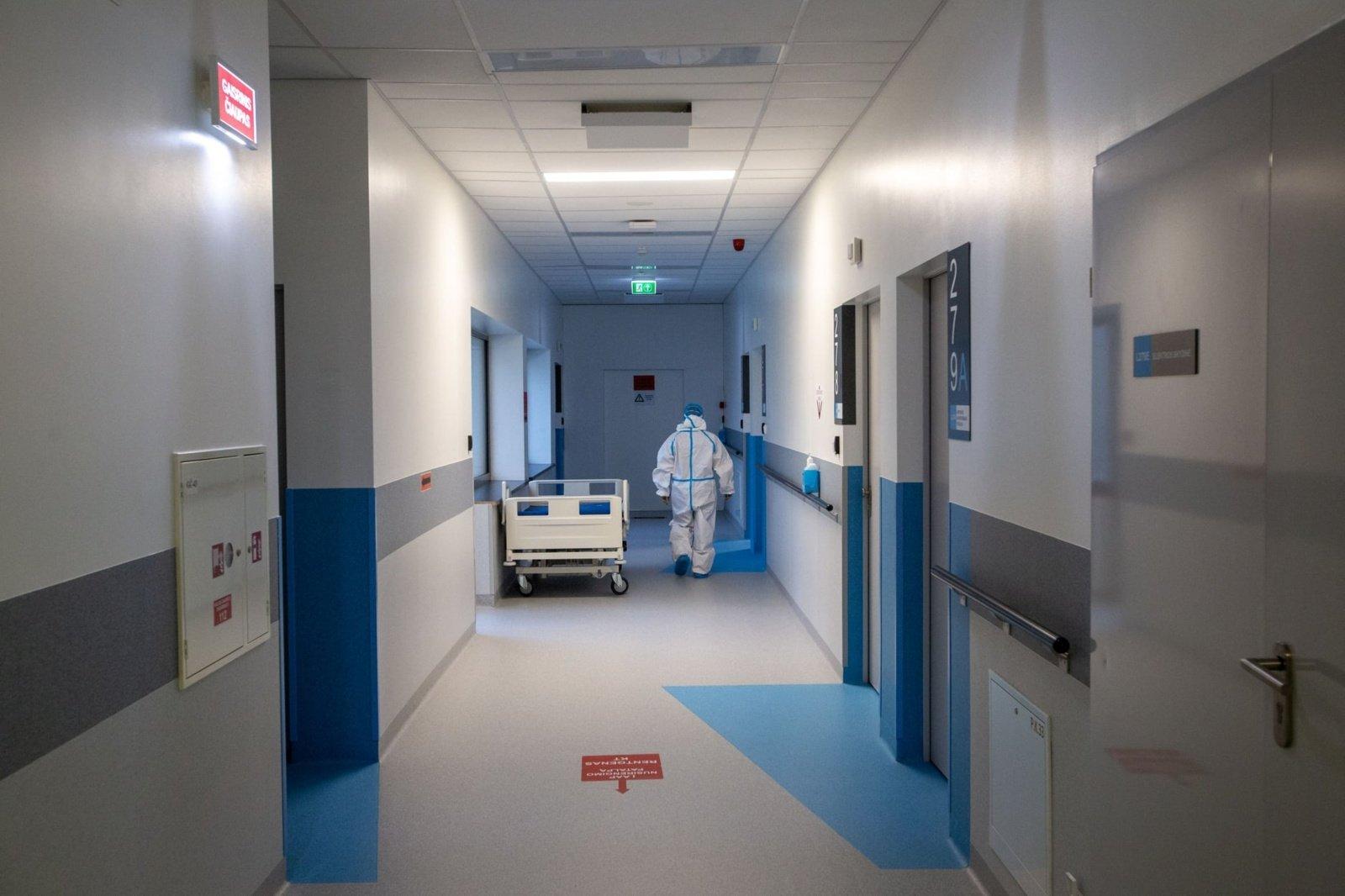 Vilniaus regione užimta beveik 80 procentų COVID-19 pacientams skirtų lovų