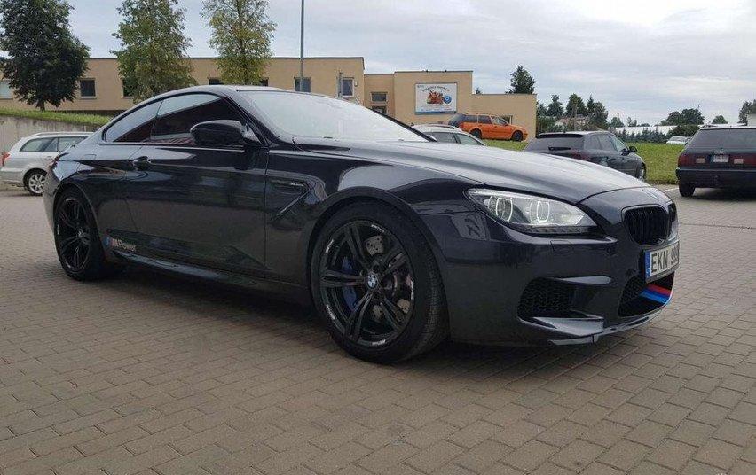 Utenoje pavogtas BMW markės automobilis
