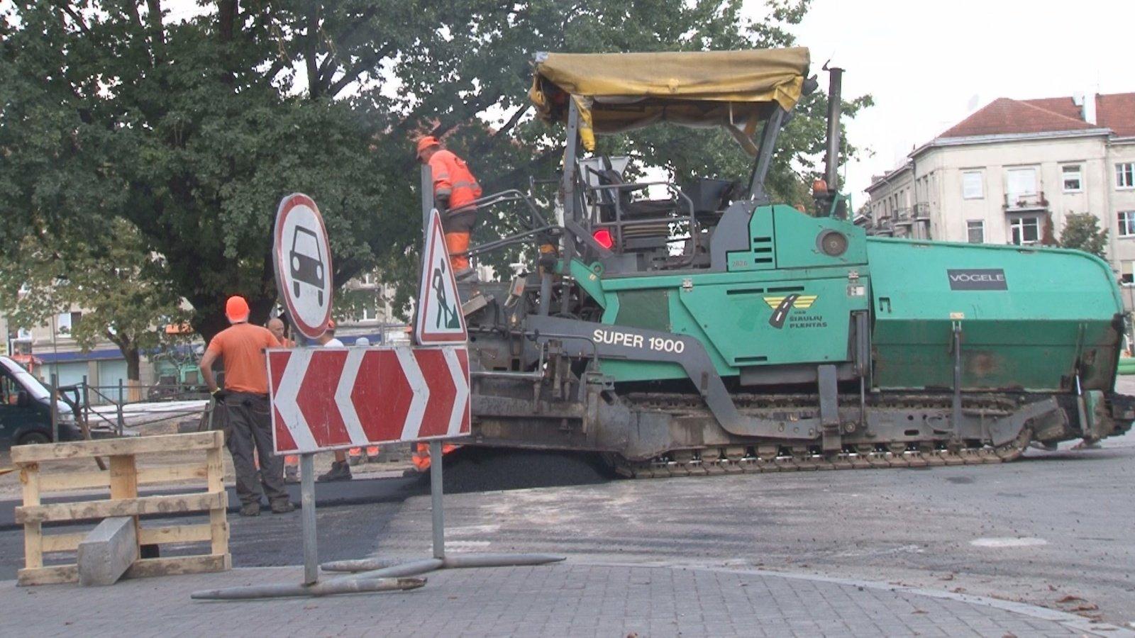 Bus asfaltuojama dar daugiau kelių: į sąrašą pateko 11 ruožų