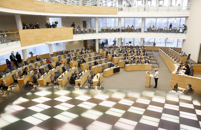 Seime – pirmas 2021 metų valstybės biudžeto svarstymas