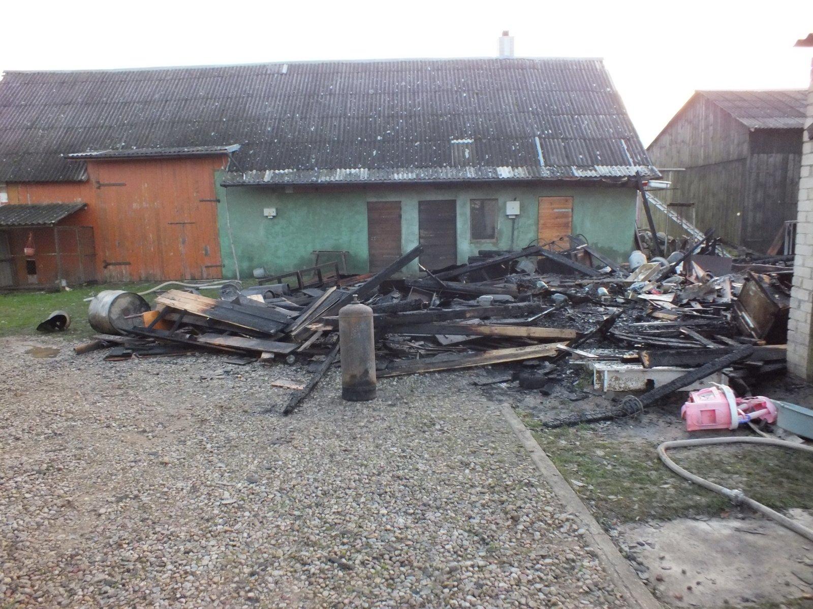 Elektros instaliacijos gedimai prišaukė gaisrus