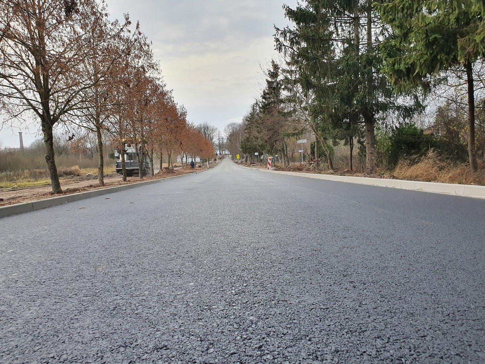 Rėkyva atsinaujina: Poilsio gatvės rekonstrukcija artėja į pabaigą