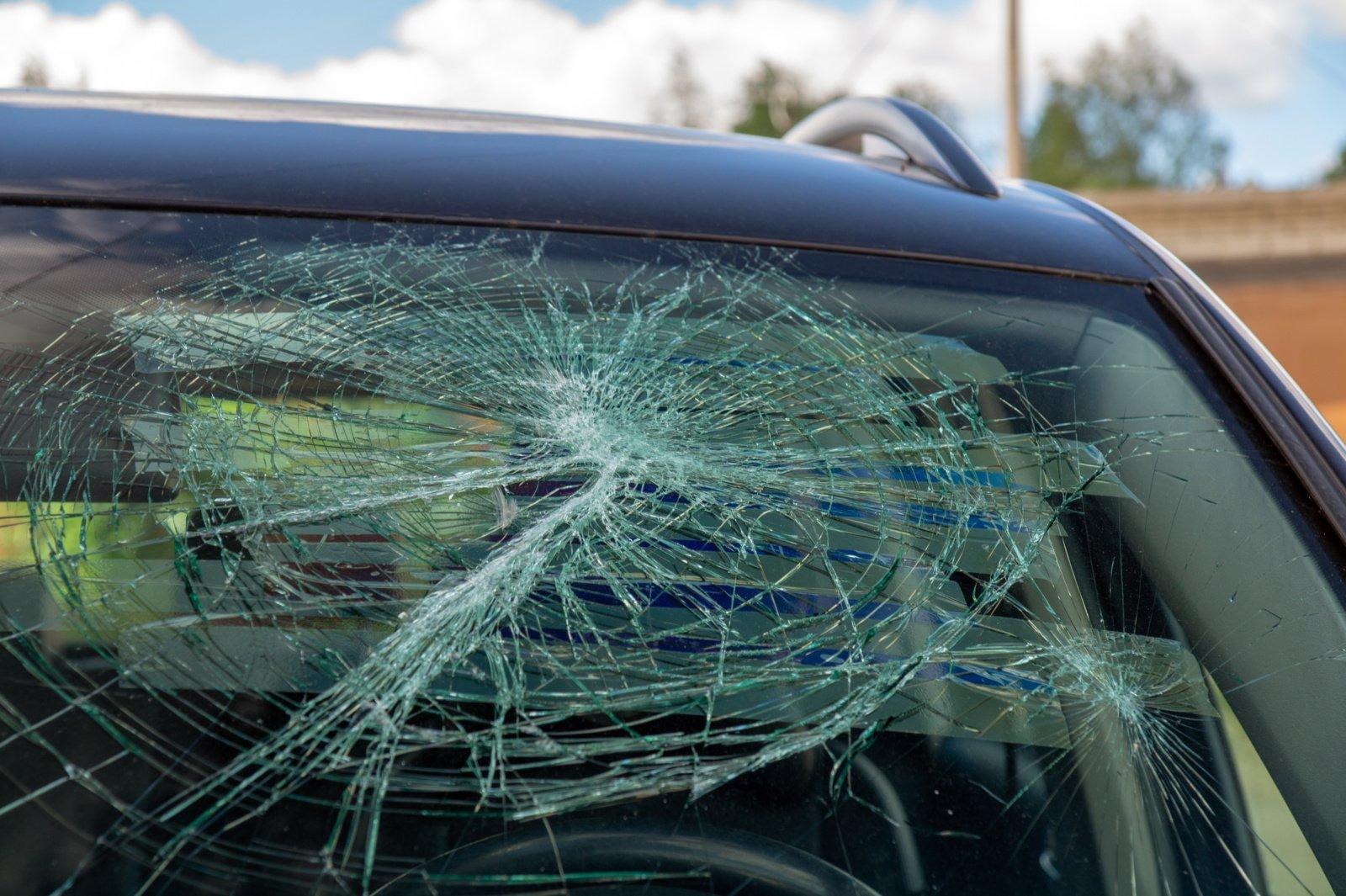 Prie vairo sėdusi girta moteris partrenkė ir 100 metrų automobiliu vilko savo dukrą