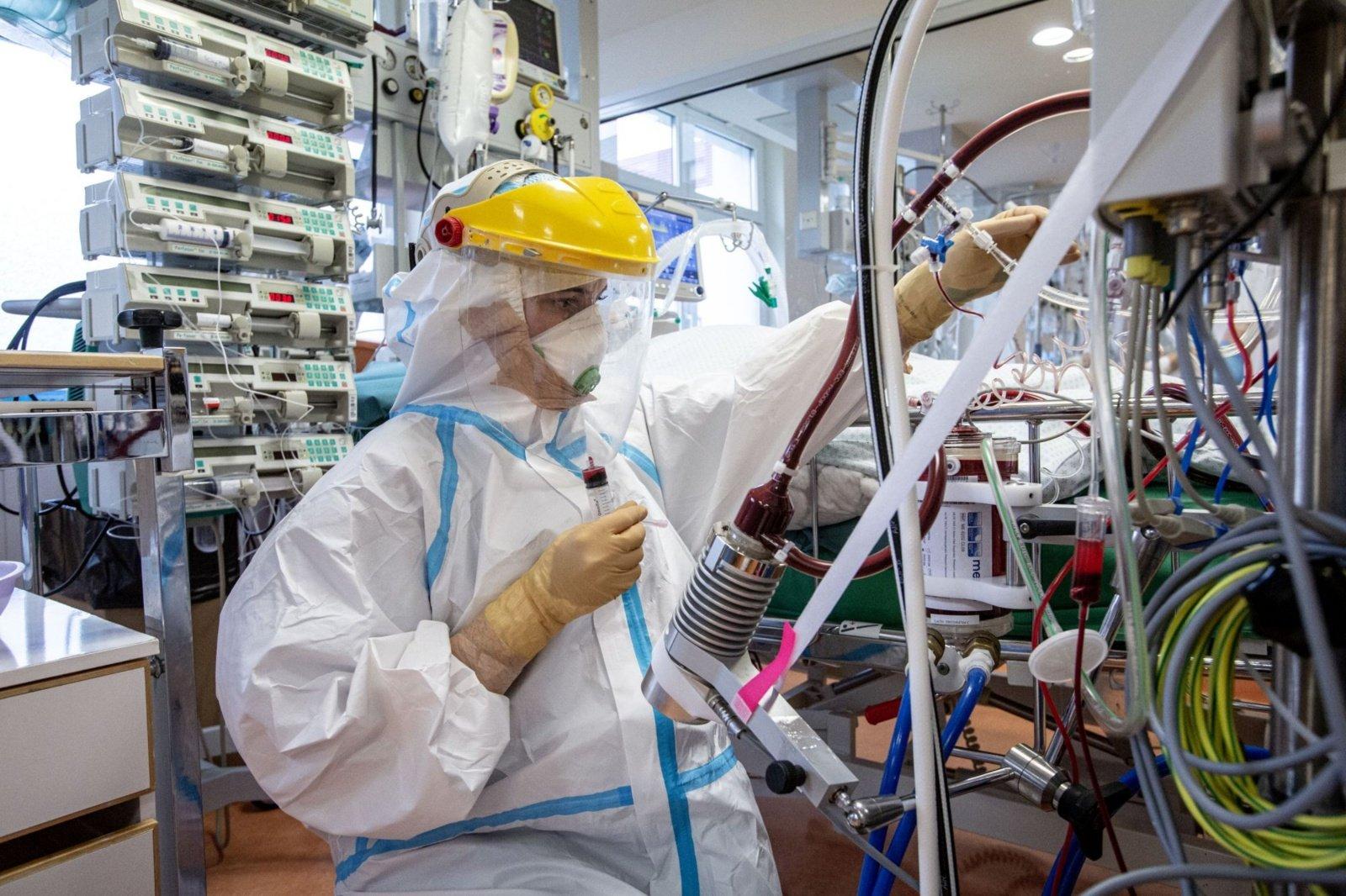 Santaros klinikose įrengiamos naujos reanimacijos vietos sunkiems pacientams