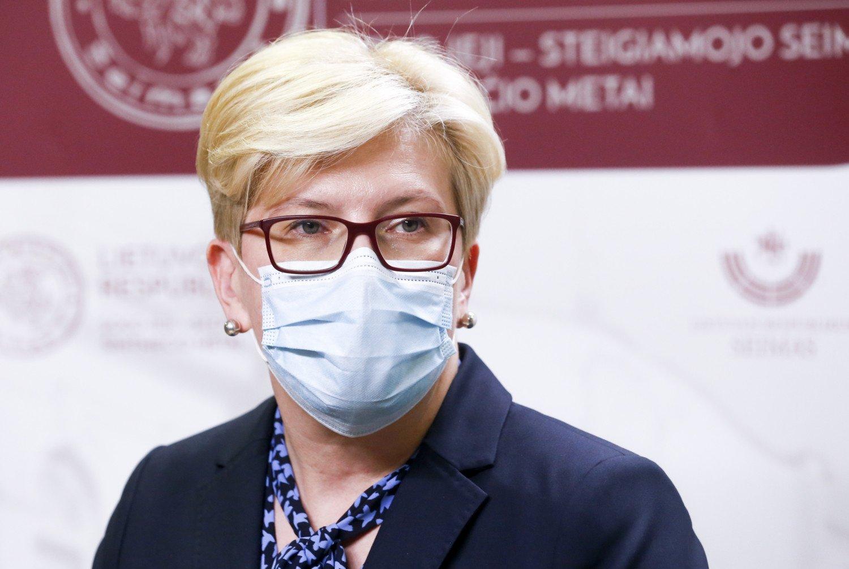 Ingrida Šimonytė: kultūros įstaigas būtų galima atverti savivaldybėse, kur mažas sergamumas
