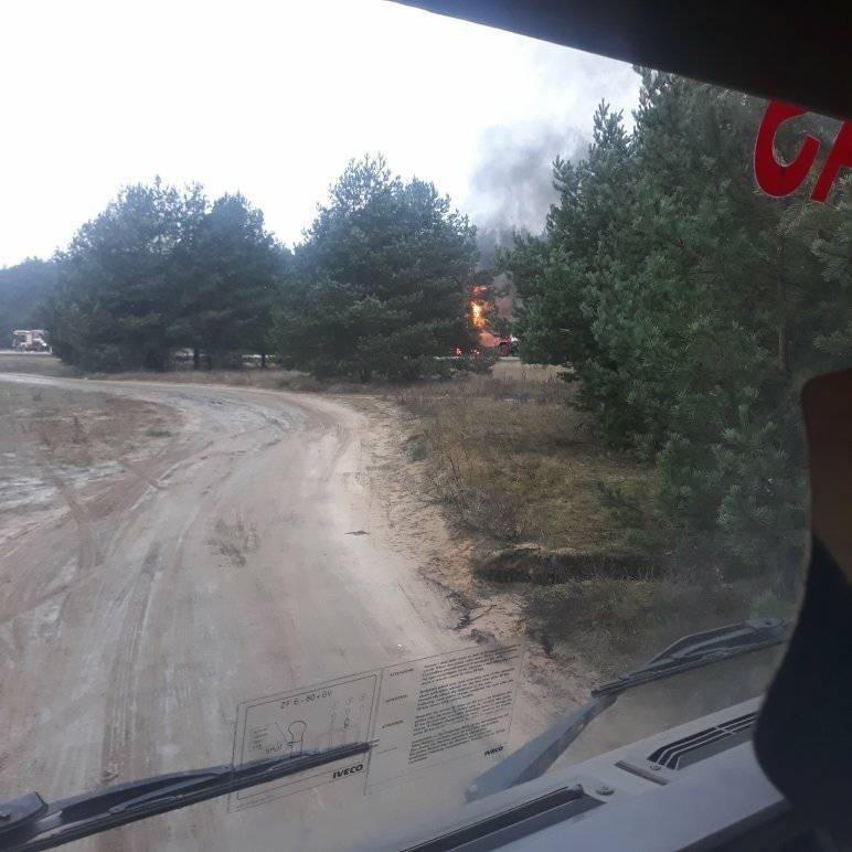 Alytaus rajone dega vilkikas su dujų cisterna