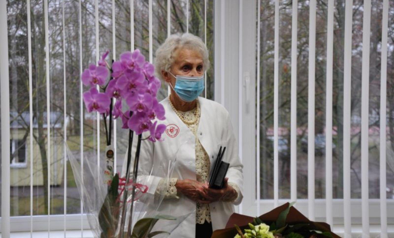 Gydytoja Valerija Alina Zablockienė apdovanota Padėkos ženklu