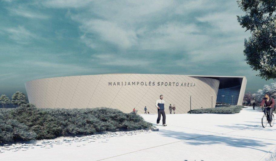 Dar vienu žingsniu arčiau tikslo: pradėti Marijampolės daugiafunkcės sporto arenos projektavimo darbai