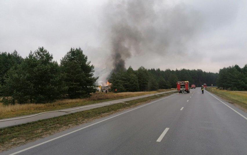 Daugiau papasakojo apie dujotiekio gaisrą Panemuninkėliuose: ugnies fakelas, nežinomybė ir pasiaukojantis ugniagesių darbas