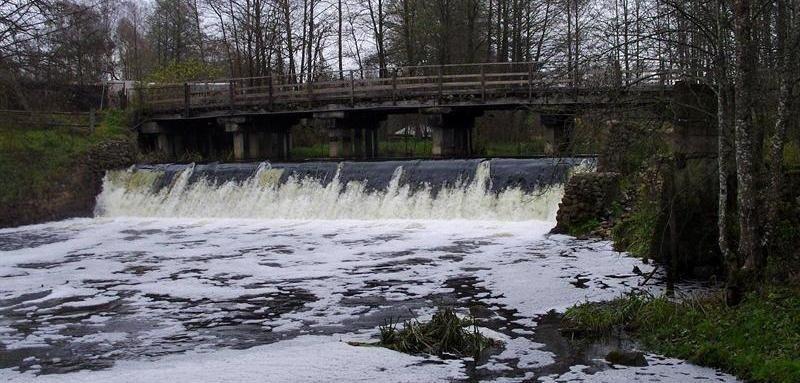 Remontuos tiltą per Ūlos upę Rudnios kaime