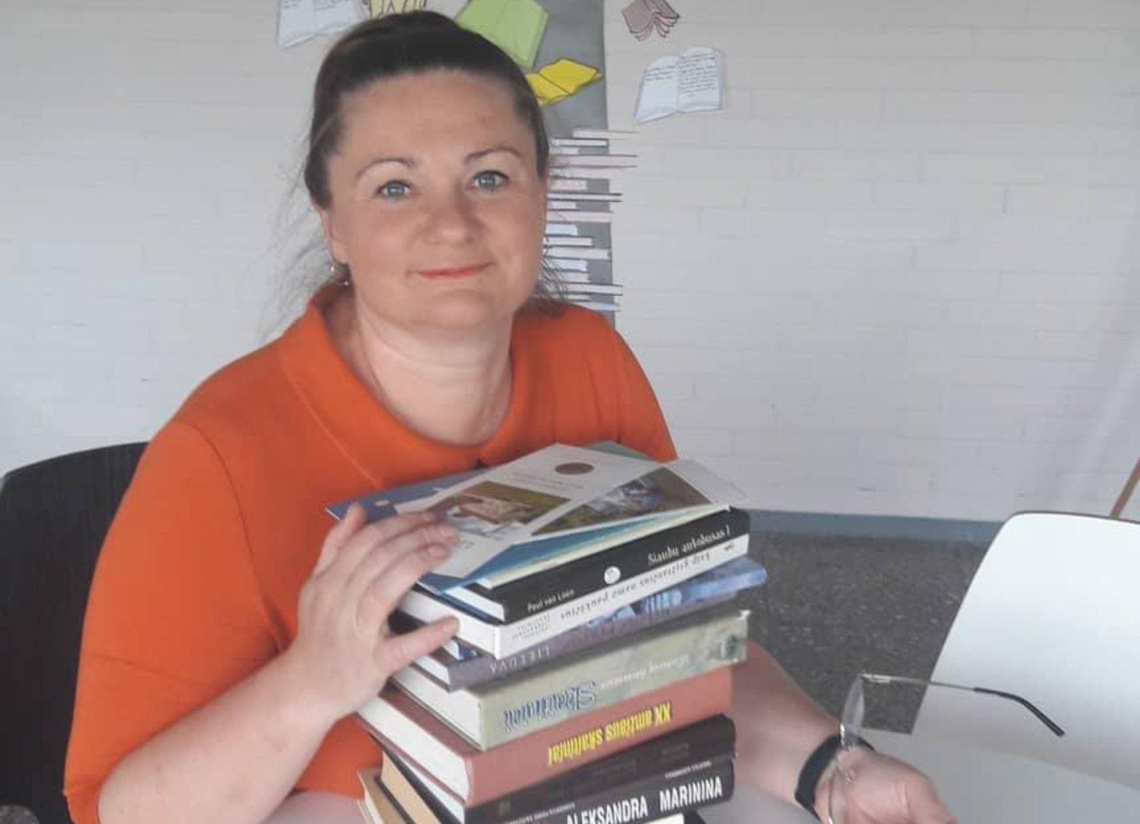 Lietuvių kalbos mokytoja Danutė Liutkevičienė: net nesvajojau apie geresnį darbą