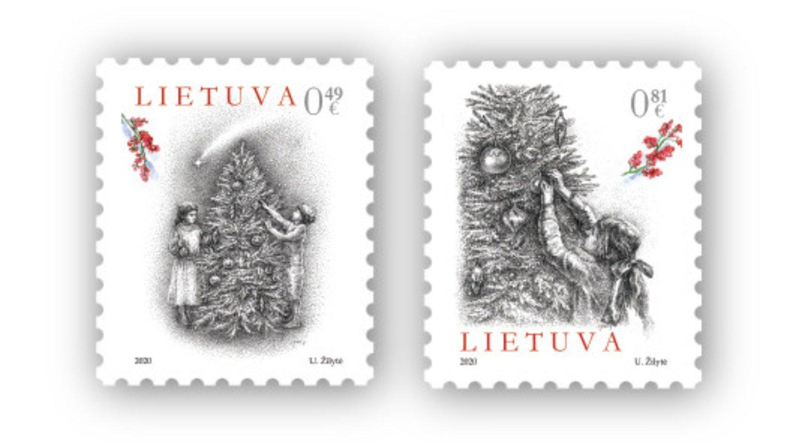 Šventiniuose pašto ženkluose – vaikystės prisiminimai apie Kalėdų laukimą