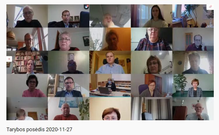 Vilniaus rajono tarybos posėdyje priimti sprendimai
