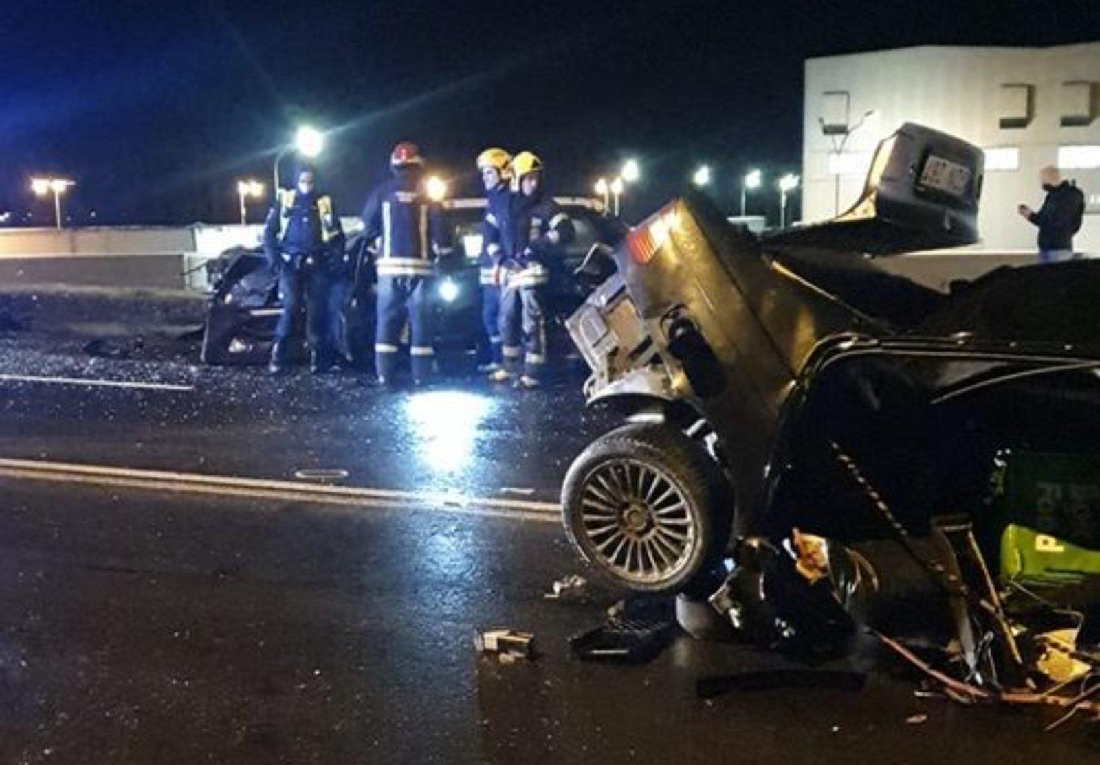 Panevėžyje susidūrus dviems automobiliams sužaloti trys žmonės